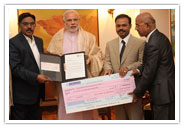 SRM Contributes to Prime Minister's National Relief Fund