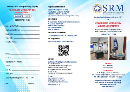 Future Events | Welcome to SRM Institute of Science and Technology