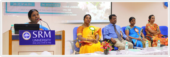 College of nursing srm university is to host a national conference on