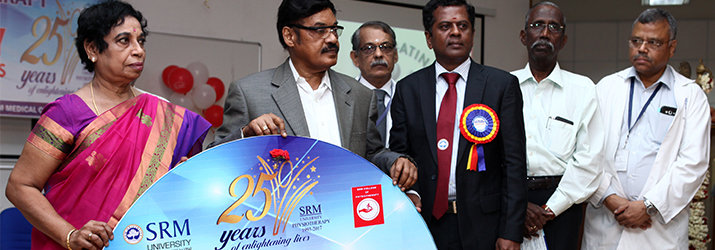SRM COLLEGE OF PHYSIOTHERAPY SILVER JUBILEE CELEBRATIONS