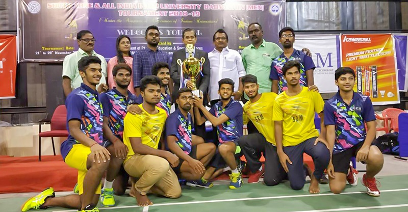 South Zone Inter-University Men Badminton Team Championships