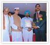 Shiksha Rattan Puraskar' and 'Glory of India Gold Medal' to Dr. Srikanth