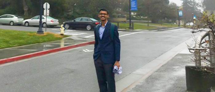 SRM STUDENT EXCITED TO SPEND A SEMESTER AT UNIVERSITY OF CALIFORNIA, BERKELEY