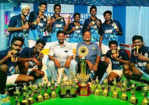 All India Inter-University Ball Badminton Men Tournament 2017 – 2018