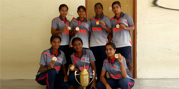 inter collegiate ball badminton women tournament