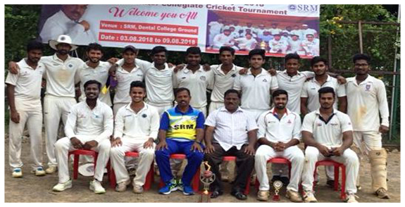 South Regional Inter Collegiate Founder'S Trophy Cricket Tournament