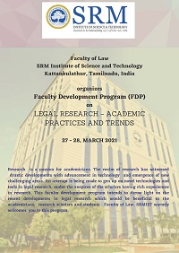 fdp-legal-research-academic-practices-trends