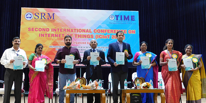 Five-day IoT conference in SRM draws International crowd