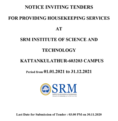 house-keeping-tender-schedule