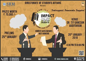 IMPACT - The SRM National Debate