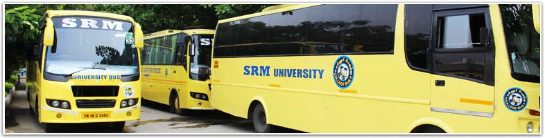 Bus Transport Fee Details For Srm University Campuses In