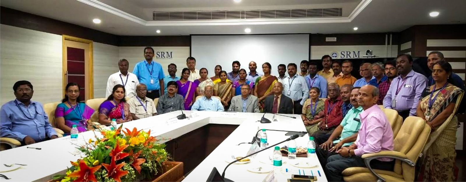 SRMIST conducted workshop for 5 adopted institutions under UGC Paramarsh scheme