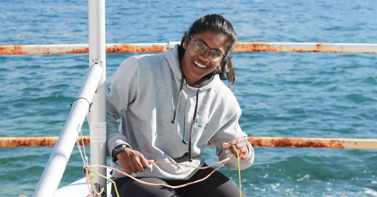SRM student becomes first Indian women to qualify for Olympics
