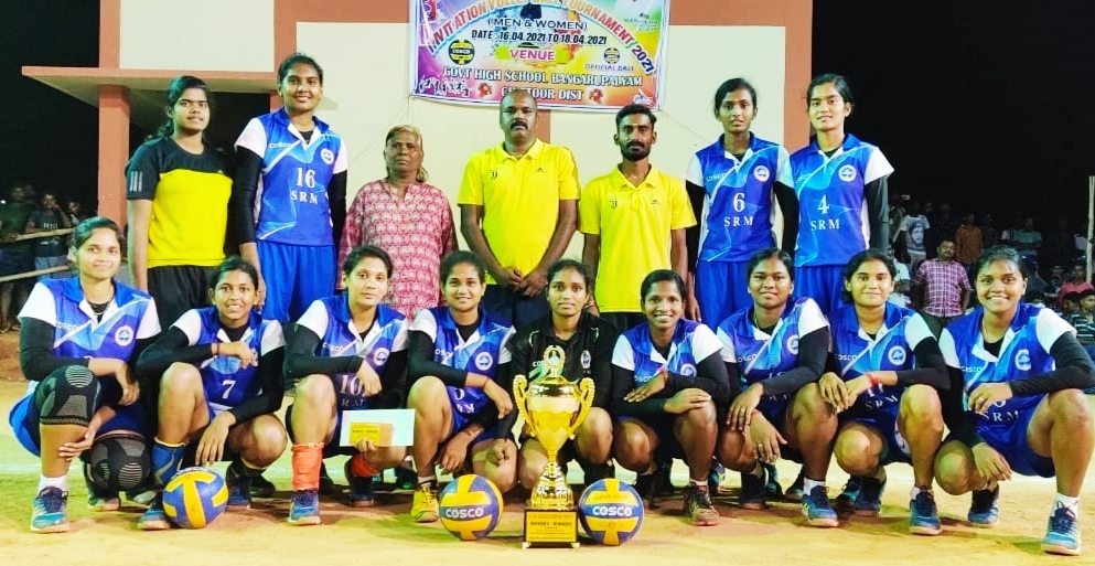 srmist-womens-team-wins-all-india-volleyball-tourney