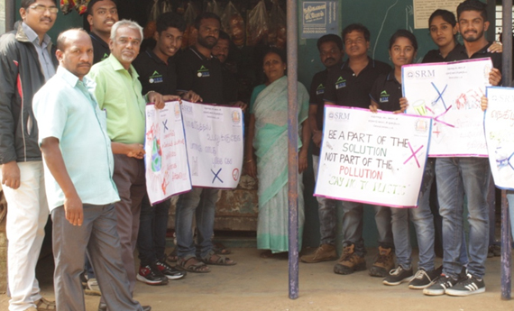 students-of-srm-take-out-anti-plastic-awareness-rally